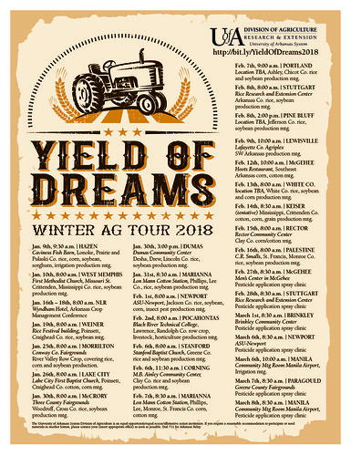 Yield of Dreams winter production meeting schedule