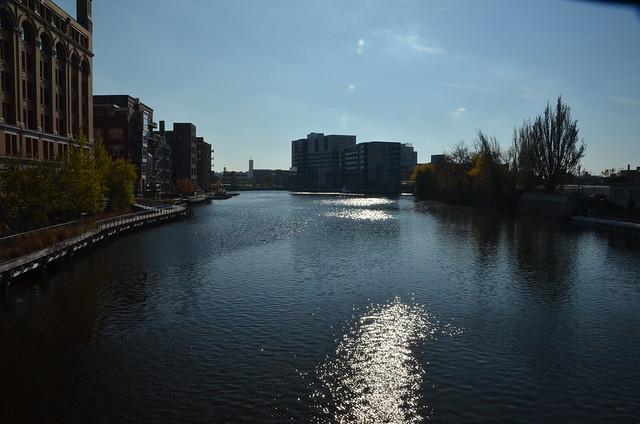 The Milwaukee River, In Milwaukee