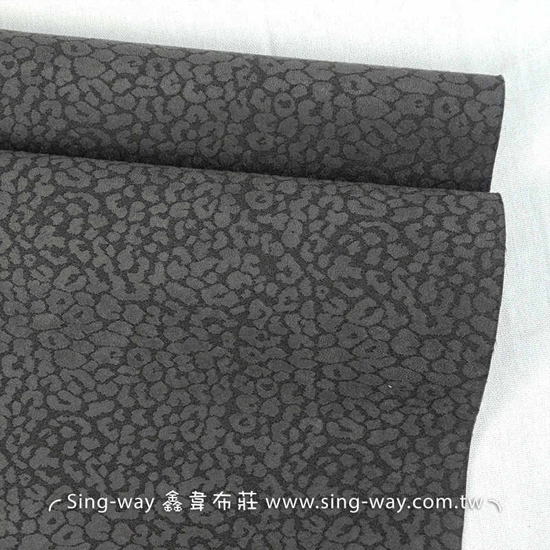 灰色石紋 豹紋 仿麂皮合成皮革 手工藝DIy 裝飾服裝布料 居家佈置 HB790003