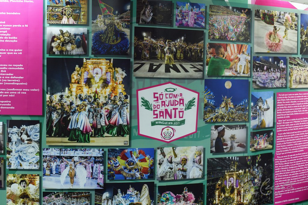 Centro de memória Verde e Rosa - Exposição Mangueira 2017