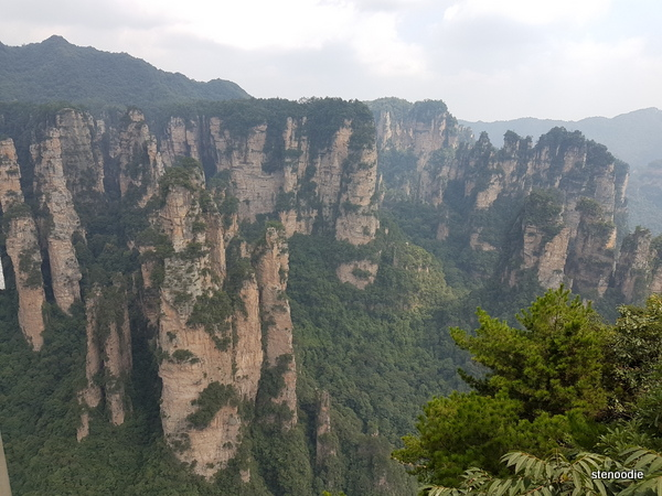 Tianzi Mountain views