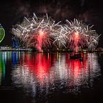 The Gunwharf Quays annual Fireworks Extravaganza 2017