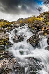 Cwm Idwal River Snowdonia