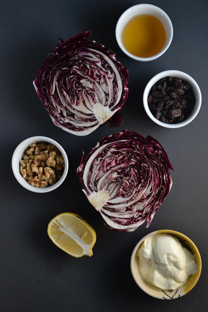 Charred Radicchio with Yogurt Sauce | Things I Made Today