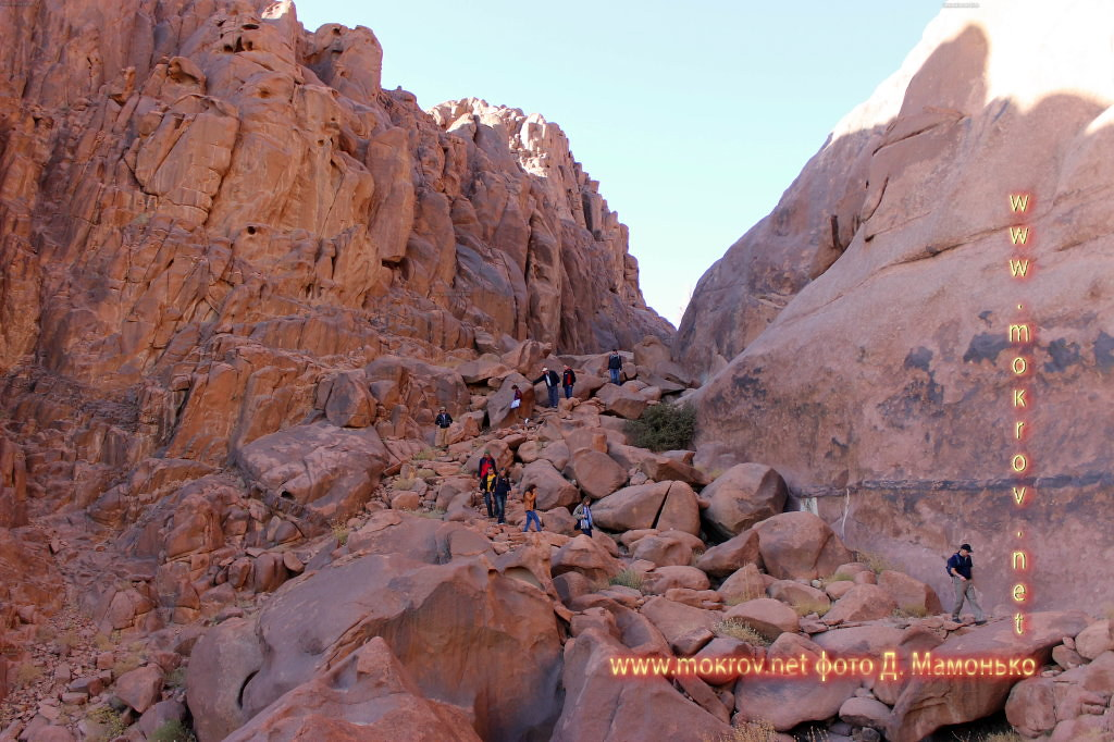 Синайские горы фотозарисовки