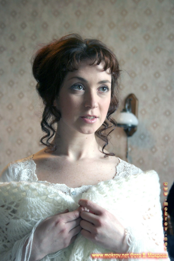 На съемках телевизионного фильма «Выйти замуж за генерала» фото
