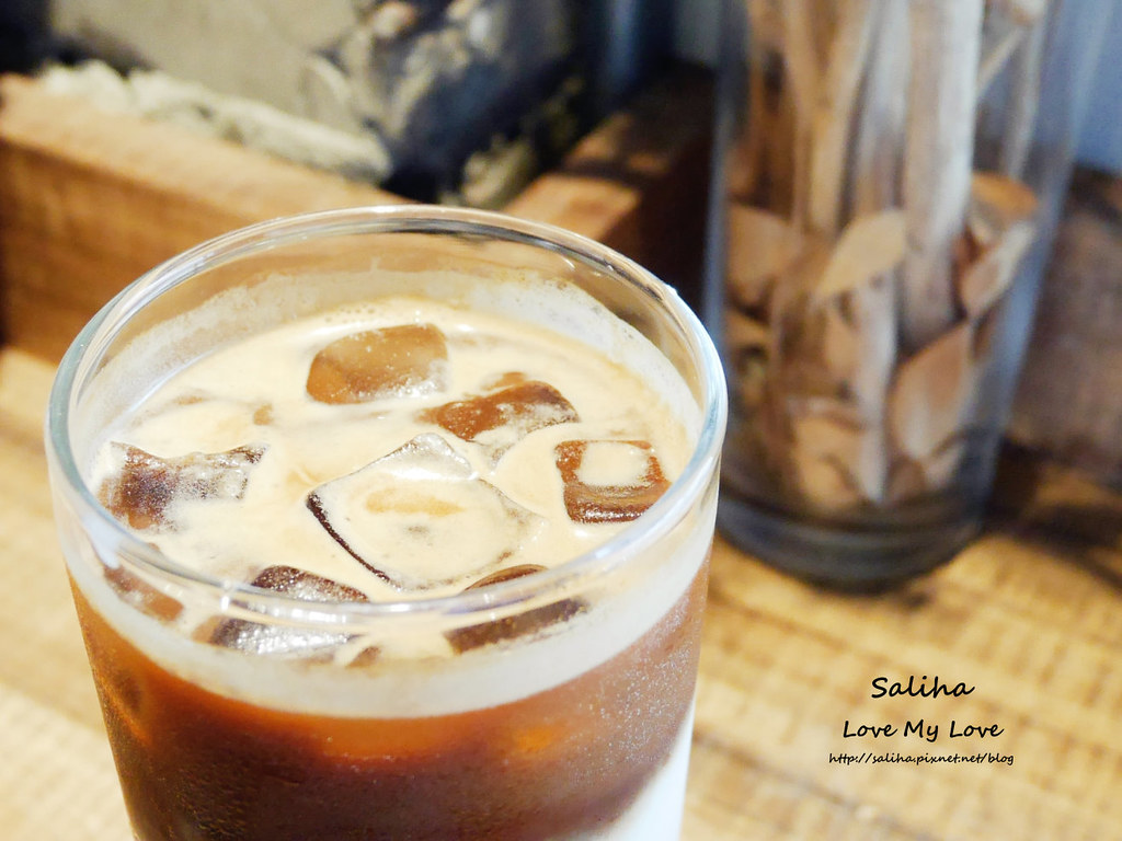 大安森林公園站附近韓風咖啡廳來吧cafe 下午茶 (1)