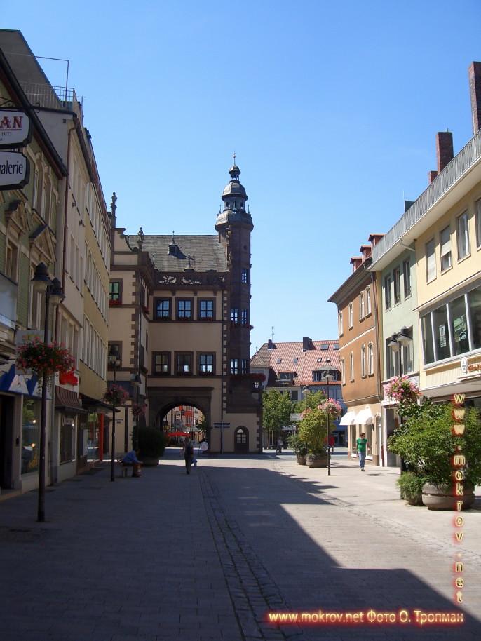 Германия - Швайнфурт фотопейзажи