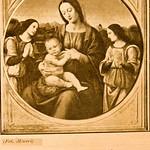 1911 Foto Alinari 004, Madonna col Bambino e due Angeli di L. di Credi - https://www.flickr.com/people/35155107@N08/