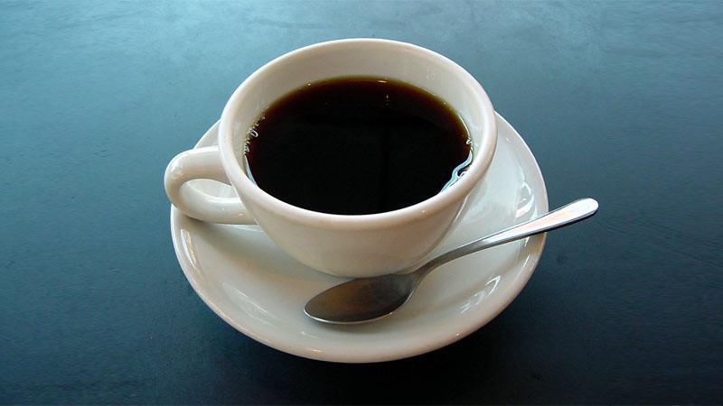 Secangkir kopi.
