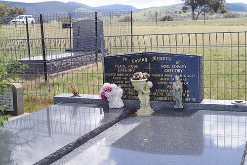 Tharwa general cemetery, ACT, Australia