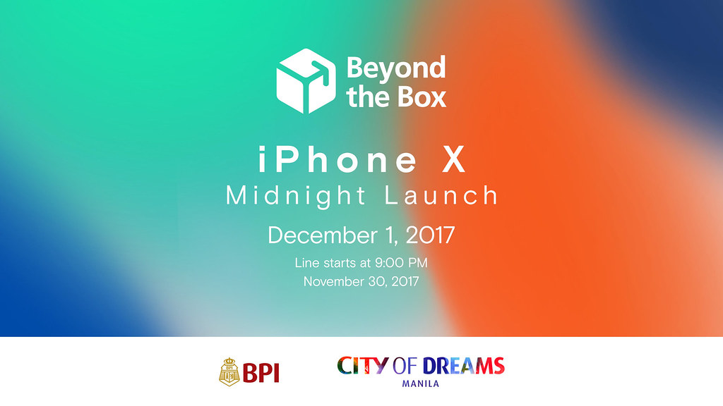 iPhone X Midnight Launch | Beyond the Box