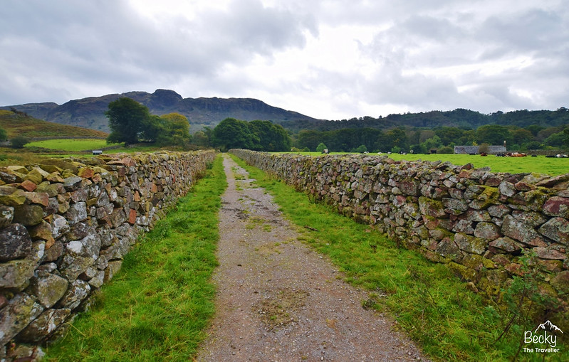 Eskdale walk to Ravenglass hike