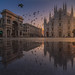 Milano rush-hour by CoolbieRe