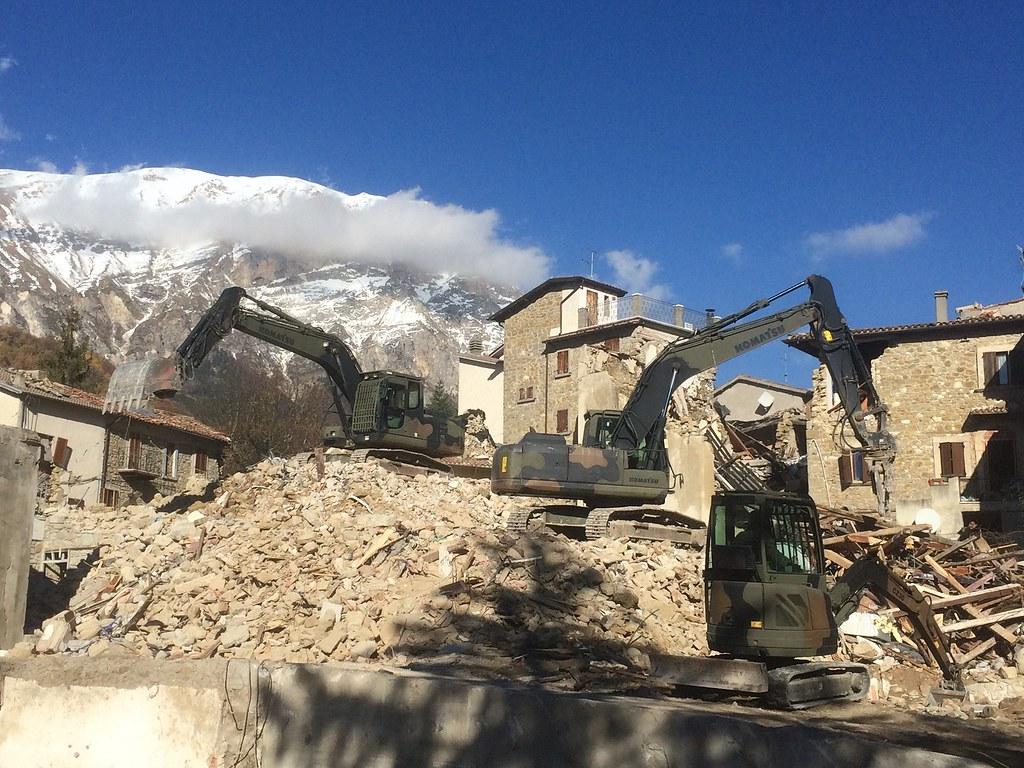 Rimozione macerie Lazio: arrivano le Forze armate
