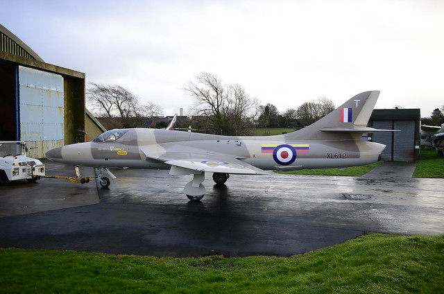 XL612 Hunter T.7 ( 8 Sqn )