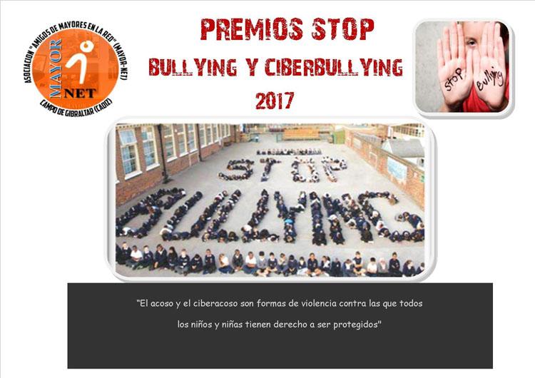 Cartel Premio Stop Bullying y Ciberbullying3