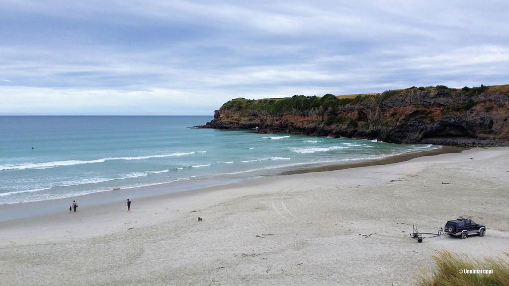 Rantamaisema, Tomahawk Beach Reserve, Uusi-Seelanti