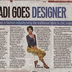 Media Coverage: Khadi