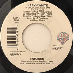 KARYN WHITE:ROMANTIC(LABEL SIDE-A)