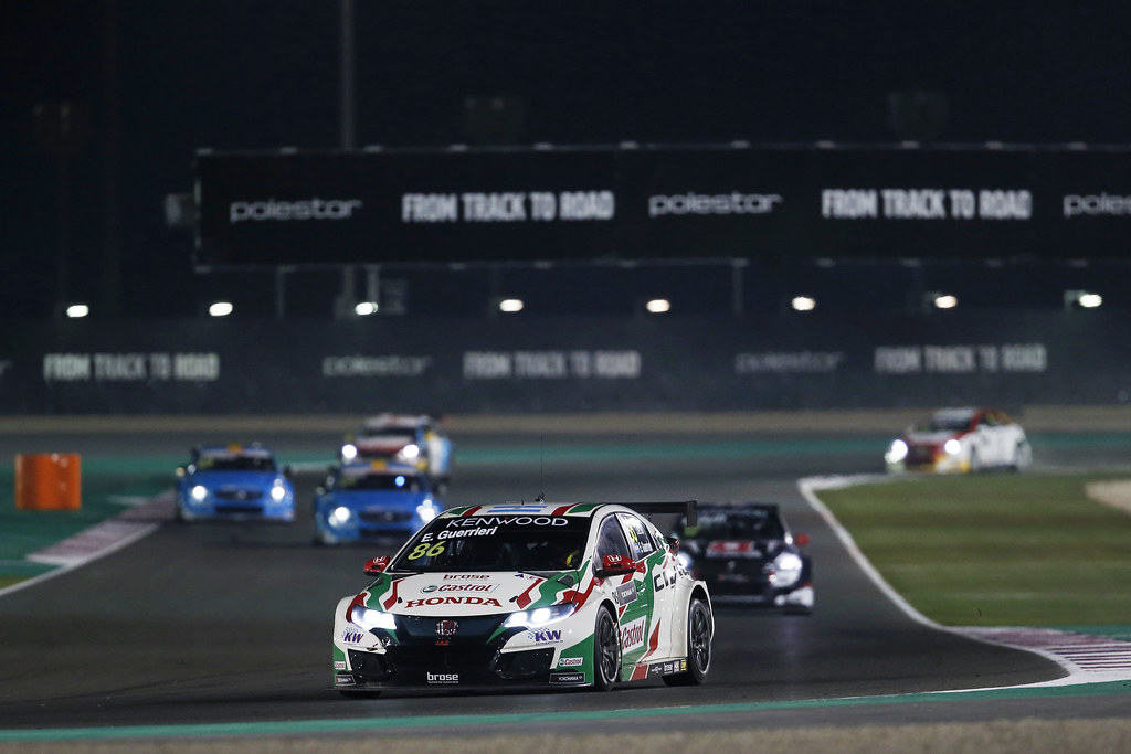 86 GUERRIERI Esteban, (arg), Honda Civic team Castrol Honda WTC, action during the 2017 FIA WTCC World Touring Car Championship race at Losail  from November 29 to december 01, Qatar - Photo Jean Michel Le Meur / DPPI