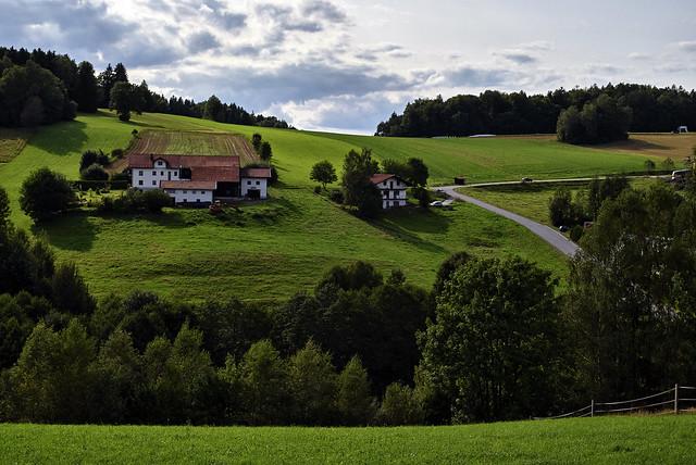 Bergbauernhöfe