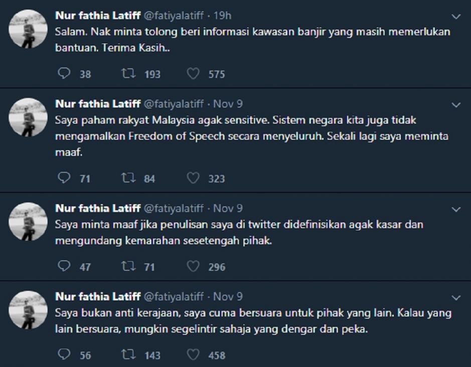 Fathia Latiff Sindir Pm