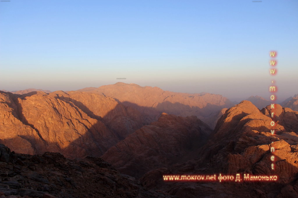 Синайские горы — Египт пейзажи