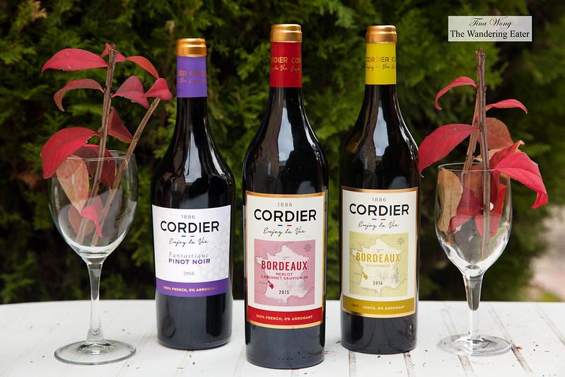 Cordier Bordeaux wines