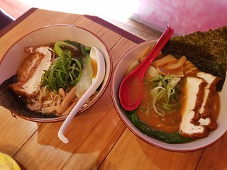 Shoyu and Miso Ramens at MisoHapi