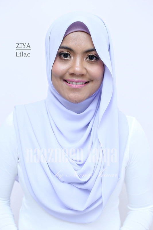 Wide Long Shawl - Ziya (Lilac)