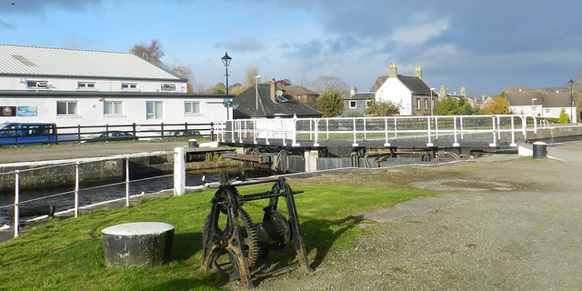 Canal Winch, Muirtown Locks, Caledonian Canal, Inverness, Nov 2017