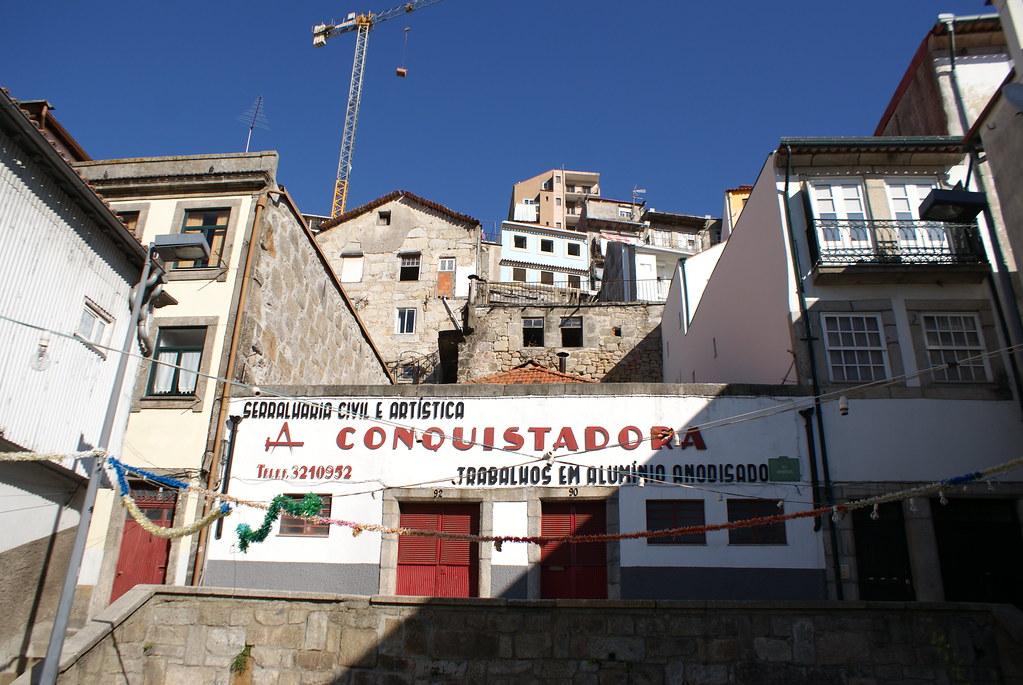 Dans le quartier de Massarelos à Porto.