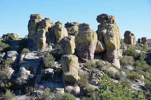 Chiricahua National Monument hoodos close