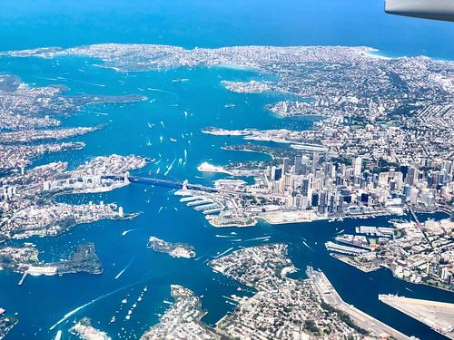 fromplanewindow australia nsw plane flight aerial sydney