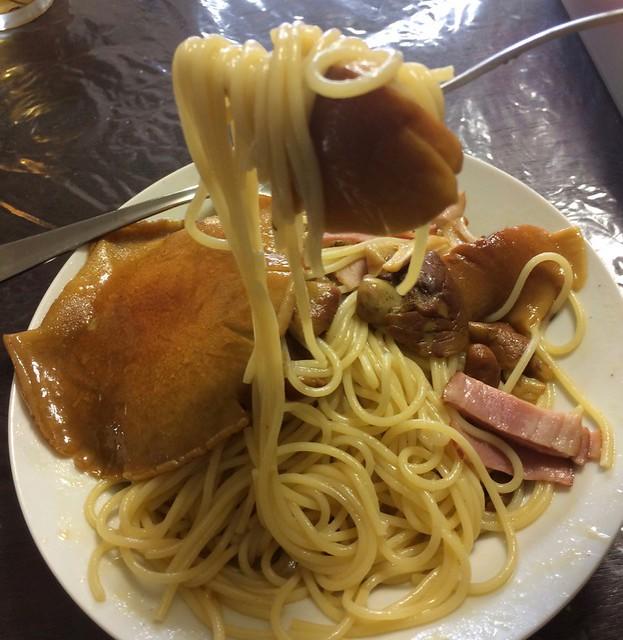 Pasta of mushroom