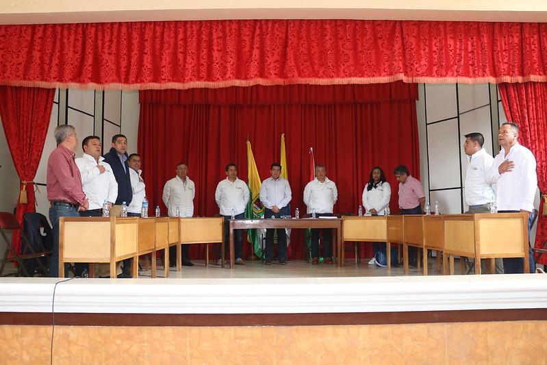 Sesión Descentralizada en Sandoná