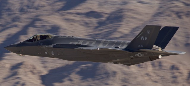 F-35A Lightning II (5119) Nellis AFB AVIATION  NATION,  LSV/KLSV