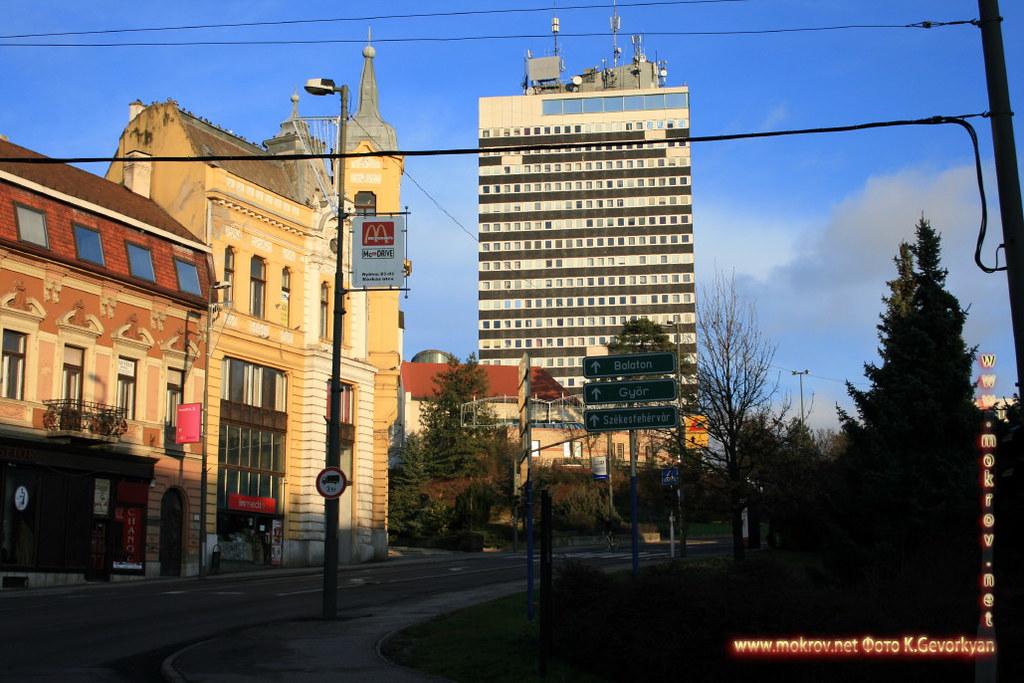 Веспрем — город в Венгрия и фотограф