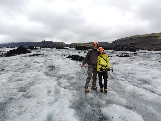 Stepping out of our comfort zone: glacier trekking in Iceland