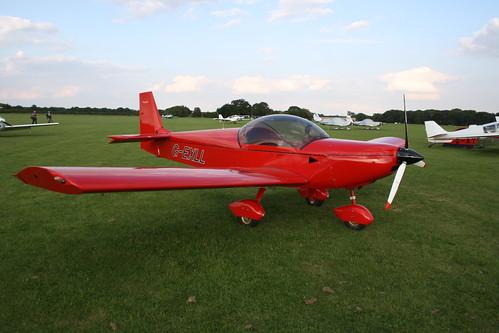 G-EXLL Zenair CH.601 [PFA 162B-14205] Sywell 020917