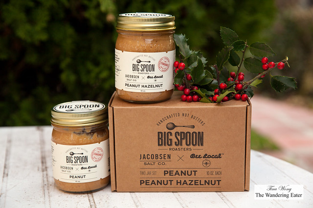 Big Spoon Roasters Limited Batch Jacobsen Salt Co. + Bee Local Nut Butter 2-Pack