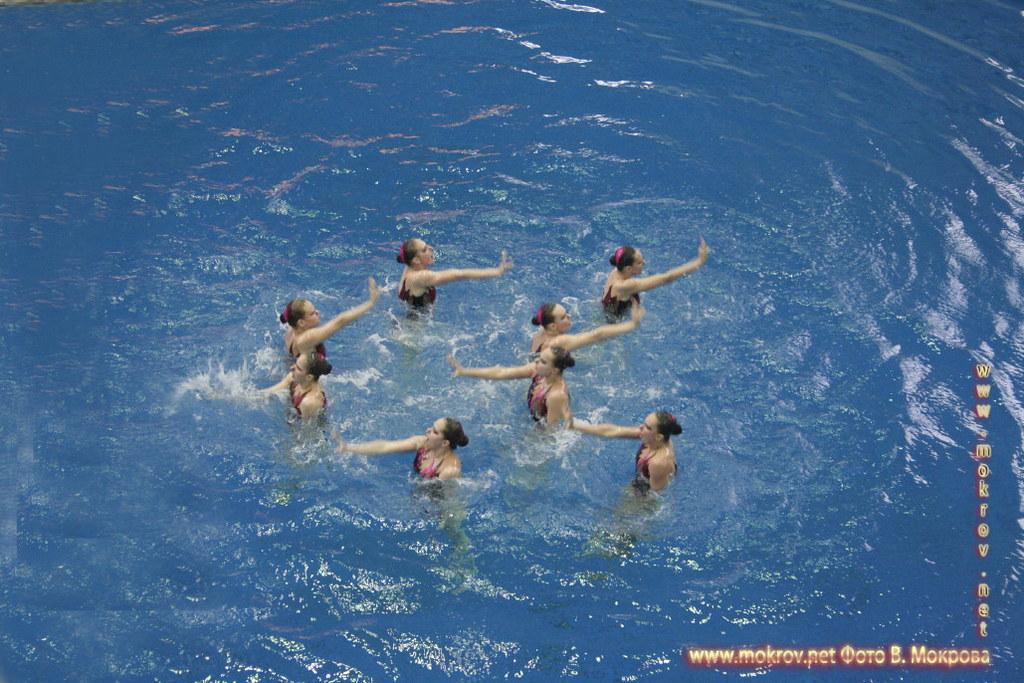 Сборная команда России по синхронному плаванию фотопейзажи
