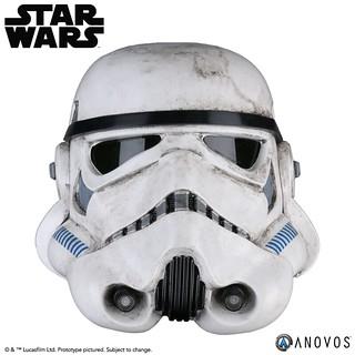 ANOVOS《星際大戰四部曲:曙光乍現》帝國沙漠兵 STAR WARS™ Sandtrooper™ Helmet Accessory 1:1 比例頭盔道具複製品