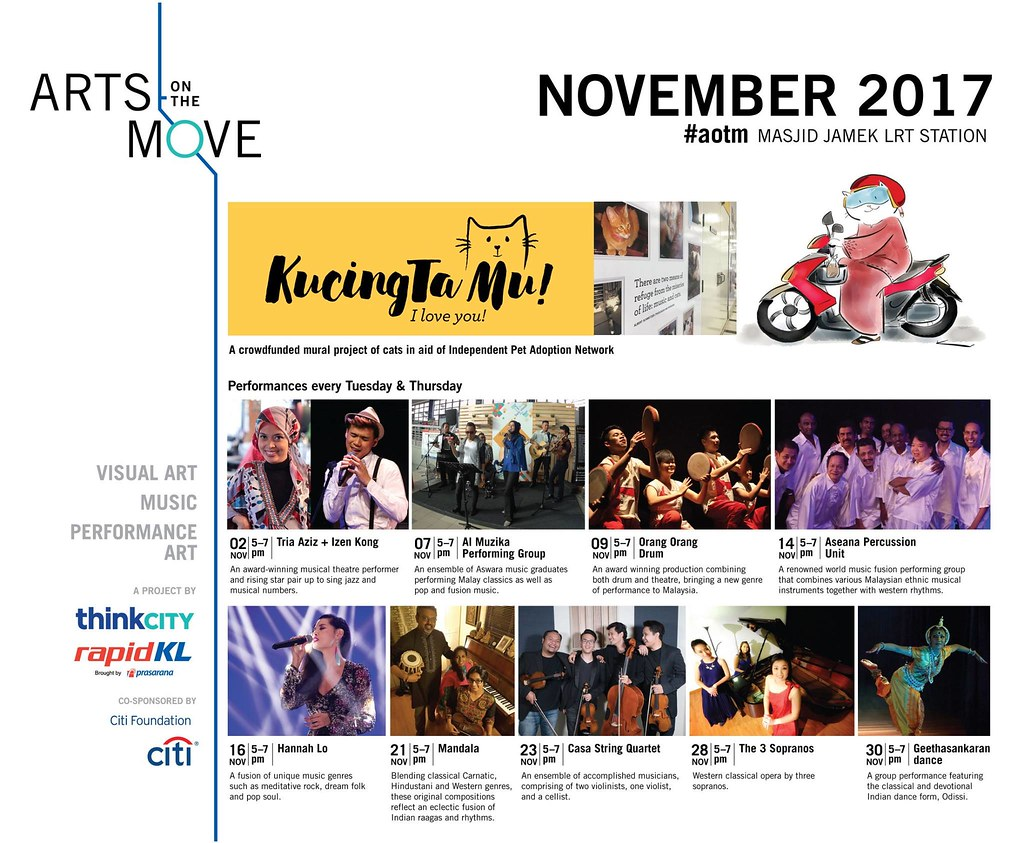 Arts on The Move Think City Rapid KL