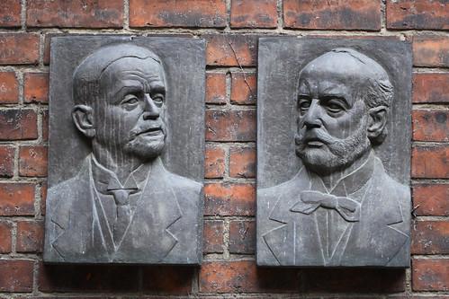Ludwig Hoffmann und Ernst Friedel