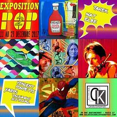 Exposition Pop2 à la Galerie Carole Kvasnevski