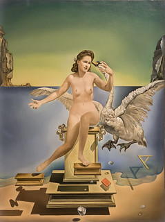 Leda atómica, Salvador Dalí