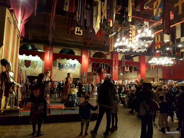 Medieval Times Dinner & Tournament interior