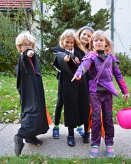 Friends Ready For Trick-Or-Treating!